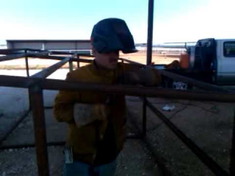 Welding on pipe saddles