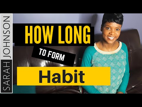 How Long Does It Take to Form A Habit?