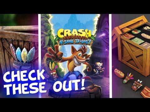 Crash N. Sane Trilogy Official Box Art! A Limited Edition??? More Pre-Order Bonuses?