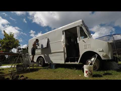Making a Food Truck start to finish - Aji limo Truck