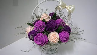 Diy How To Make Easy Paper Rose Flowers Paper Flowerscjl1b Videostube