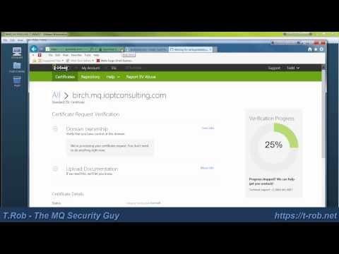 04 - Process CSR: MQ Cert Management