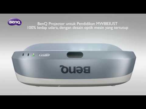 BenQ MW883UST Projector untuk Pendidikan- DustProof Engine
