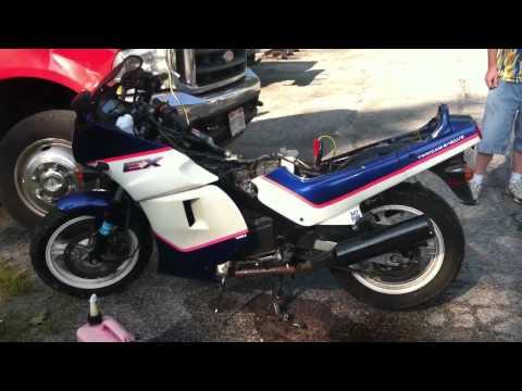 1992 Kawasaki ex500 running