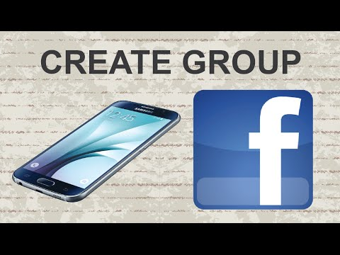 How to create group on Facebook mobile app