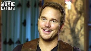 "JURASSIC WORLD: FALLEN KINGDOM | On-set visit with Chris Pratt ""Owen Grady"""