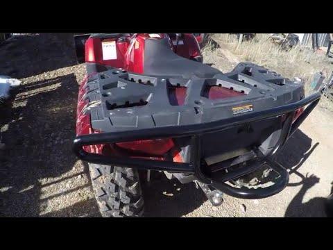 DIY Polaris 550 bumper build