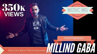 Millind Gaba new song photoshoot by Praveen Bhat