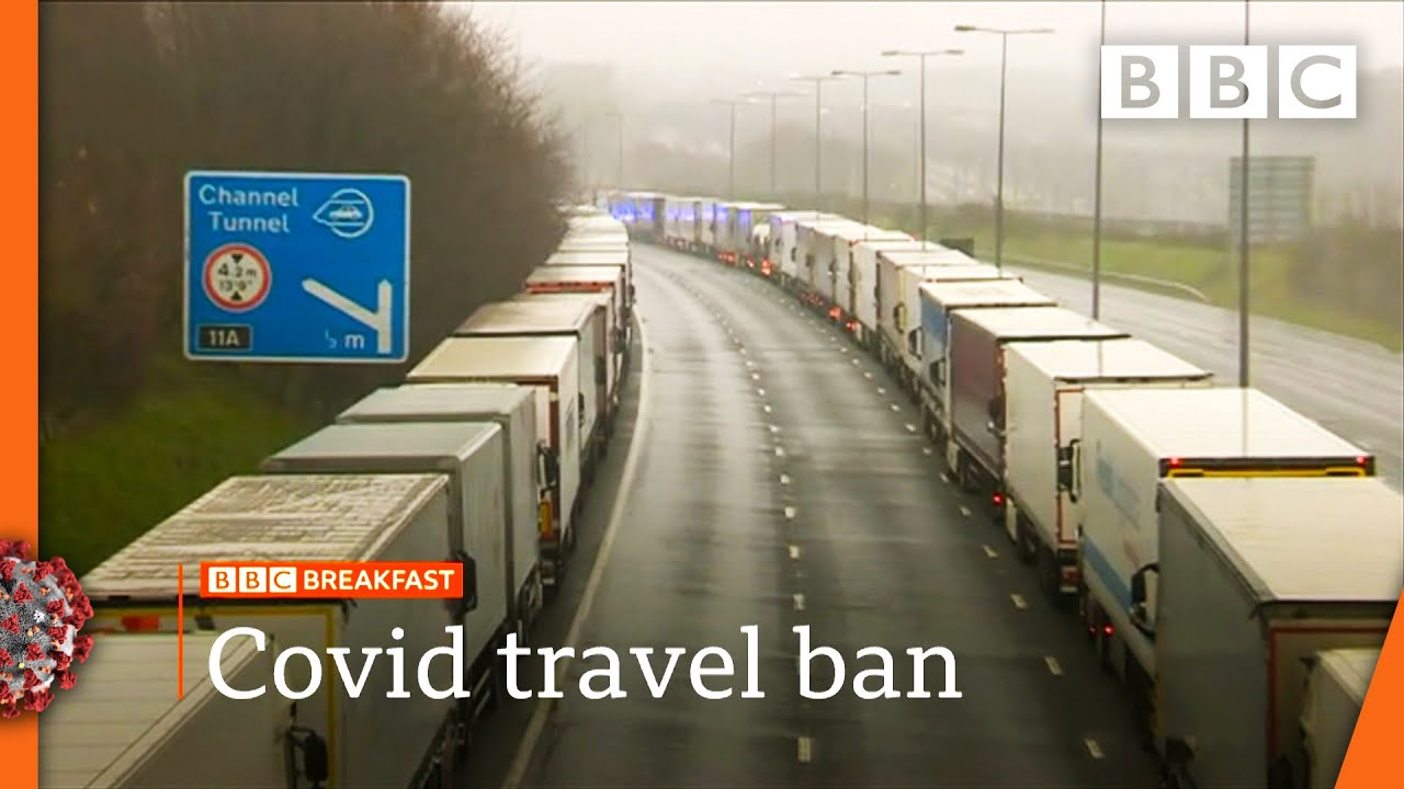 Covid-19: UK and France aim to restart freight as queues grow 🔴 @BBC News live - BBC