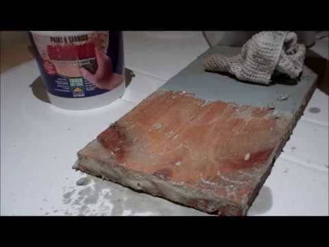 How to remove paint safely -  Demo on Two Pack Floor Paint