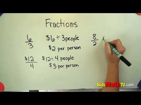 Teaching Kids Fractions As A Form Of Division Video Lesson