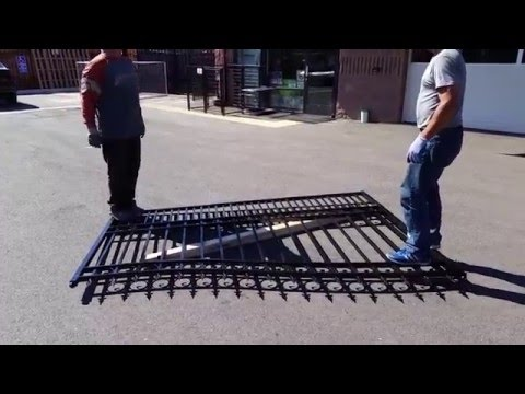 How to fix bent gate