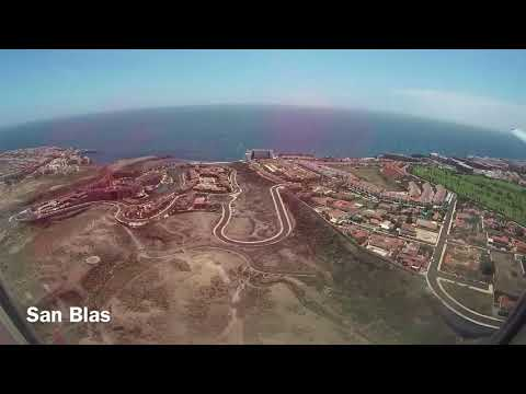 Landing at Tenerife South Airport (TFS), Tenerife, Canary Islands, Spain - 25th March, 2018