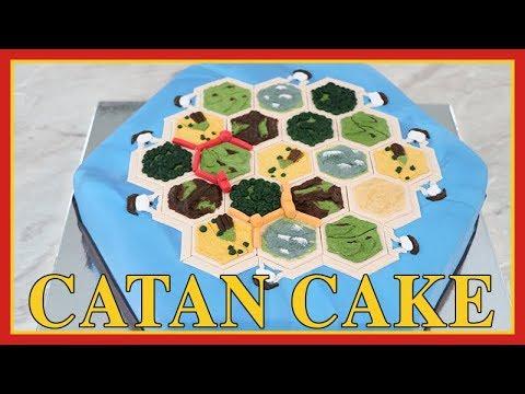 Catan Cake   Game Night   Renee Conner