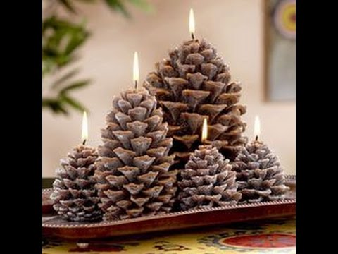 Christmas decorations to make with pine cones