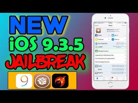 NEW iOS 9.3.5 PHOENIX JAILBREAK for 32 bit Devices!