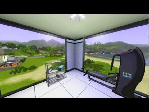 Sims 3 - Modern Beach House