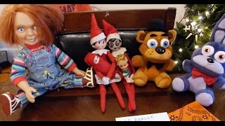 Elf on the Shelf: Halloween with Chucky and FNAF!