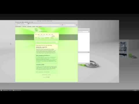 How to switch workspaces with Linux Mint