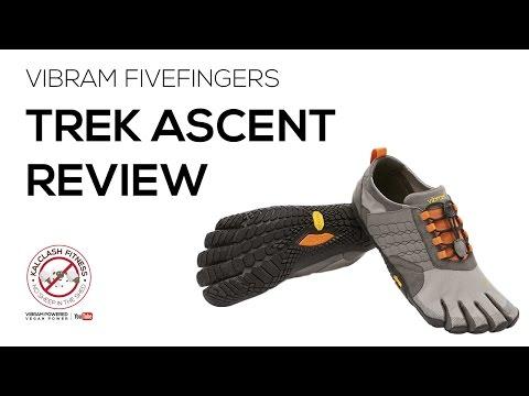 Vibram FiveFingers Trek Ascent review - barefoot running shoe review trail running