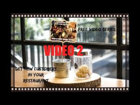 How To Increase Revenue In Your Restaurant Video Part 2