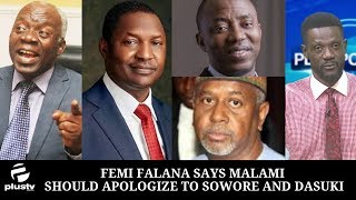 Femi Falana Says Malami Should Apologize To Sowore And Dasuki