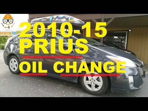 ▶️HOW TO - Prius Oil Change, 2010-2015 Step-by-Step Directions ( COMPLETE GUIDE)