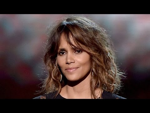 Halle Berry Shows Off Her New Partially-Shaved Hairstyle -- See the Edgy Cut!