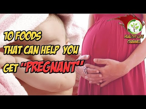 10 FOODS THAT CAN HELP YOU GET PREGNANT