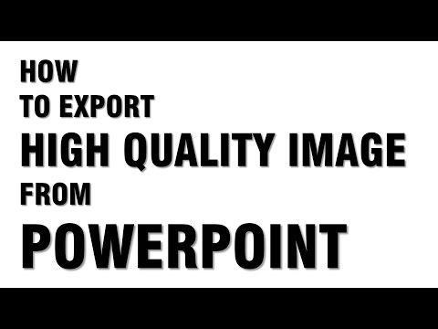 How to export high quality image from powerpoint
