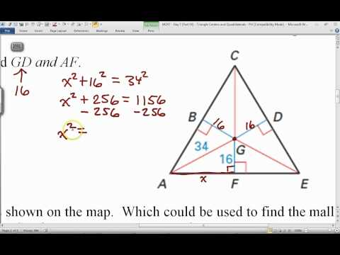 0424T - Day 7 (Part 14) - Triangle Centers and Quadrilaterals