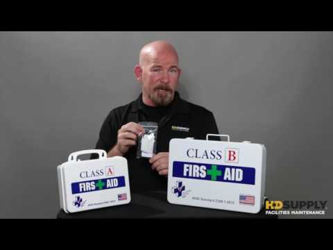 First Aid Kits - HD Supply Facilities Maintenance
