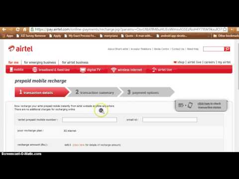 How to activate 3g in airtel