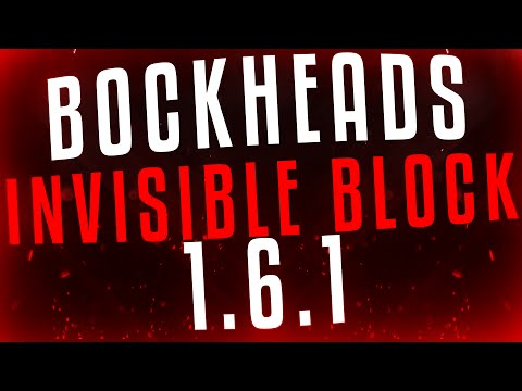 The Blockheads 1.6.1 AMAZING INVISIBLE BLOCK!!! (Woven Flax Mat)
