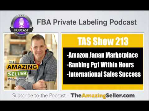 TAS 213 : HOW AND WHEN TO SELL YOUR PRODUCTS ON AMAZON JAPAN (STEP BY STEP)