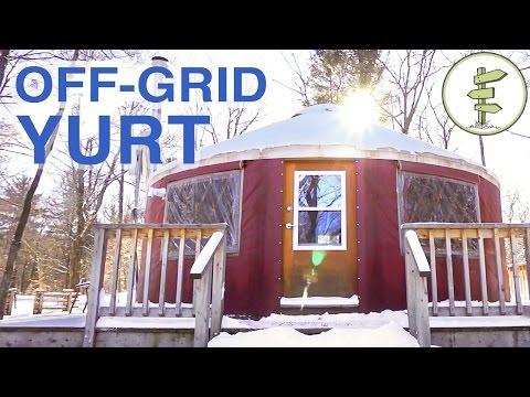 Off-Grid Yurt Tour: A Tiny House Alternative