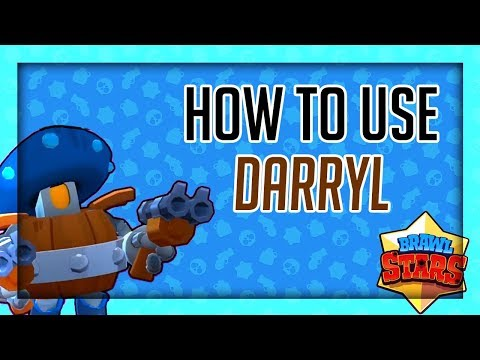 How to Use/Counter Darryl - Brawl Stars Character Tutorial