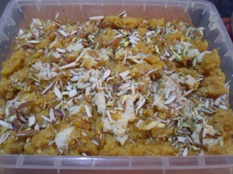 Kaddu Sooji Ka Halw Recipe in Urdu /Pumpkin Semolina Halwa Recipe