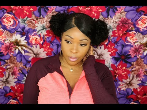 Lace Closure Wig | How To Put Lace Closure Wig Into A Bun | Eullair