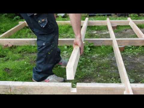 Pallet wood workshop build.  Part 1