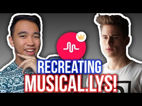 RECREATING FALCOPUNCH'S MUSICAL.LYS! + Musical.ly Transition Tutorial