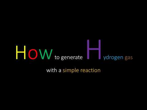 How to make Hydrogen gas without electricity