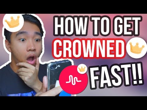 HOW TO GET A CROWN ON MUSICAL.LY! FAST & EASY 2018!