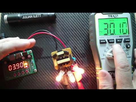 Playing with: 12V DC to 220V AC Inverter Royer Oscillator