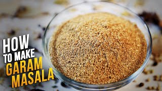 How To Make Garam Masala | Homemade Garam Masala Recipe By Smita Deo | Basic Cooking