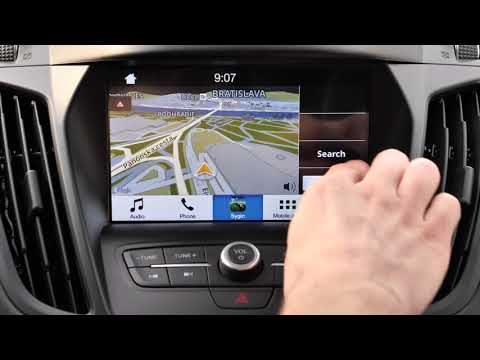 How to drive with Sygic Car Navigation and Ford SYNC3
