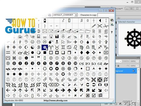 How to do Adobe Photoshop Text Design using Type as Art - CS5 CS6 CC Tutorial