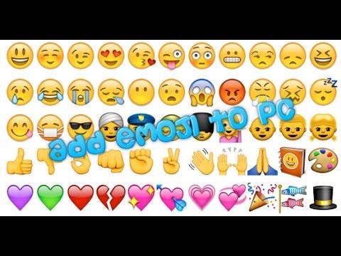 How to Add Emoji on Pc | 😡😂😉😍 | Tutorial | 2017