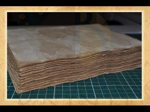 Envelhecimento de papel - Perguntas Frequentes - Parte 1 (Aging paper - FAQ - Part 1)