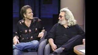 Jerry Garcia, Bob Weir on Late Night, October 13, 1989 (stereo)